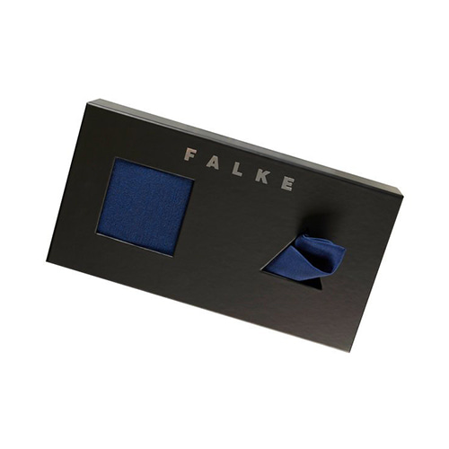 FALKE Airport Pocket Square GIFT set - ROYAL BLUE