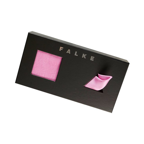 FALKE Airport Pocket Square GIFT set - PEONY